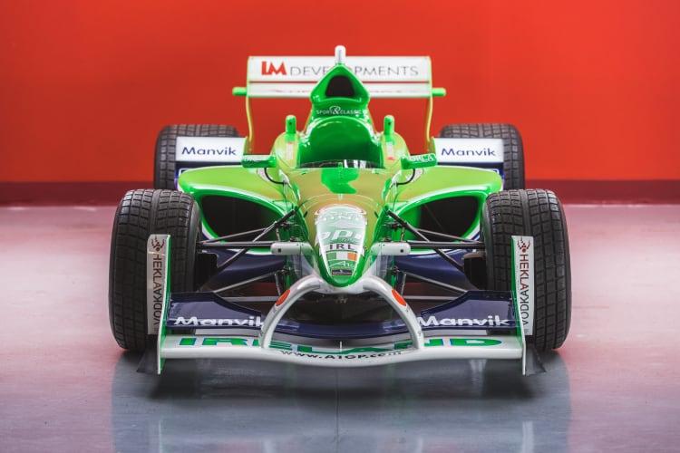 front of 2005 Lola B05 52 A1 Grand Prix