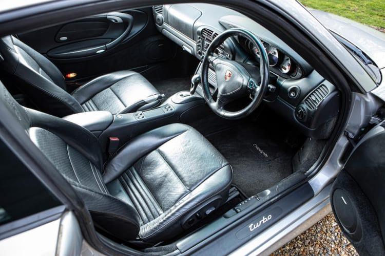 Interior of Porsche 996