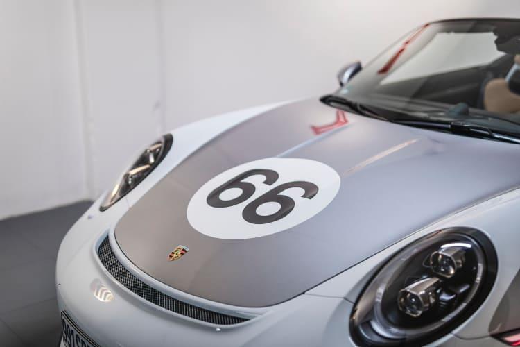 2019 Porsche 911 Speedster front
