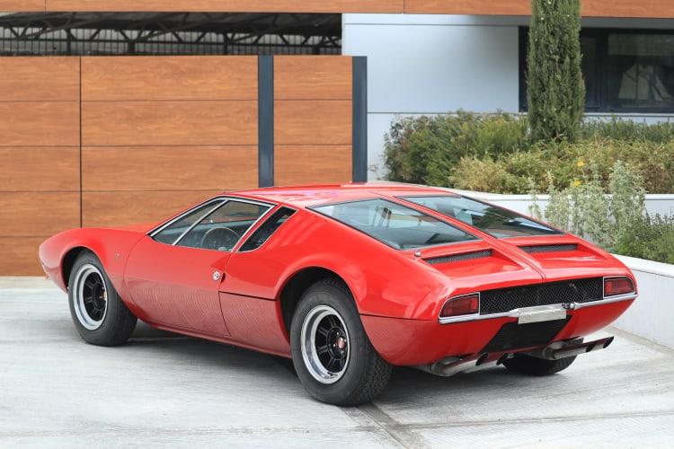 1970 De Tomaso Mangusta rear