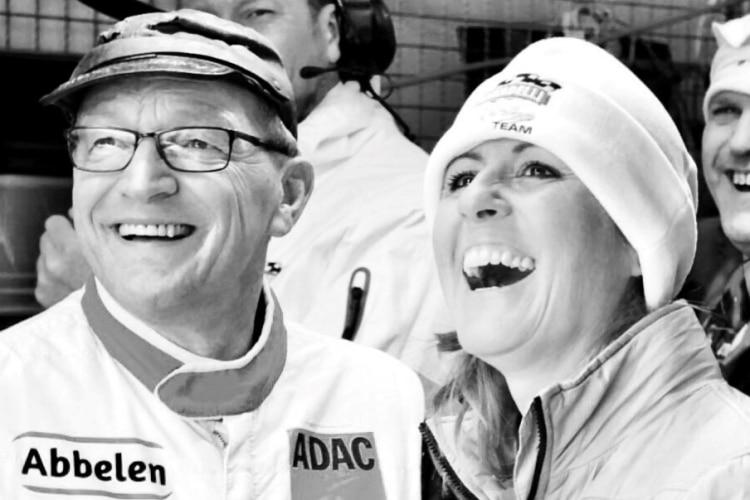Klaus Abbelen and Sabine Schmitz