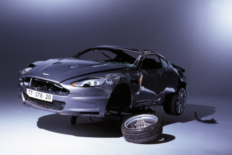 Aston crash