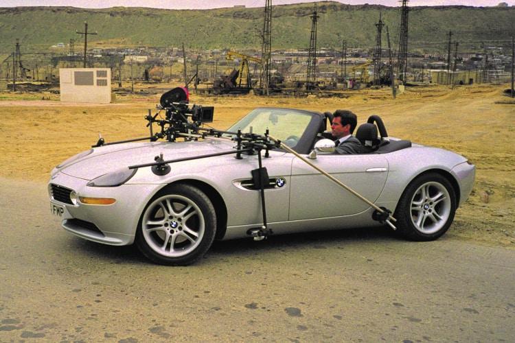 James Bond in BMW Z8