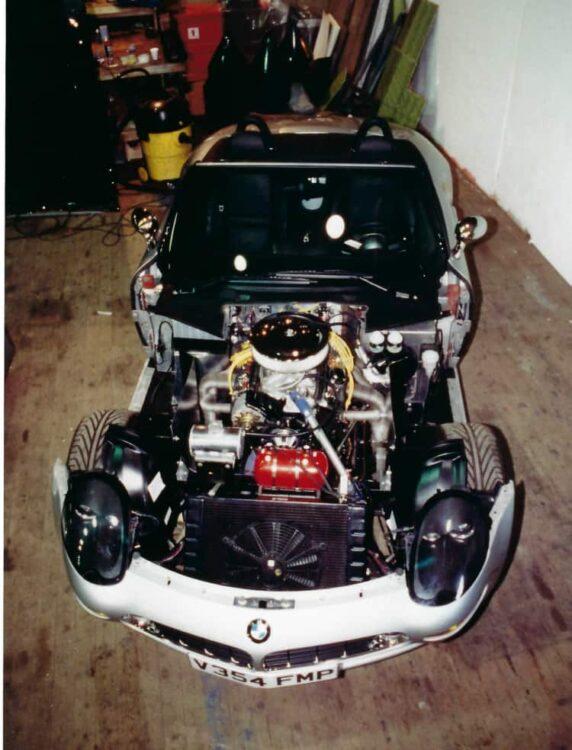 BMW Z8 Chevy-powered movie car