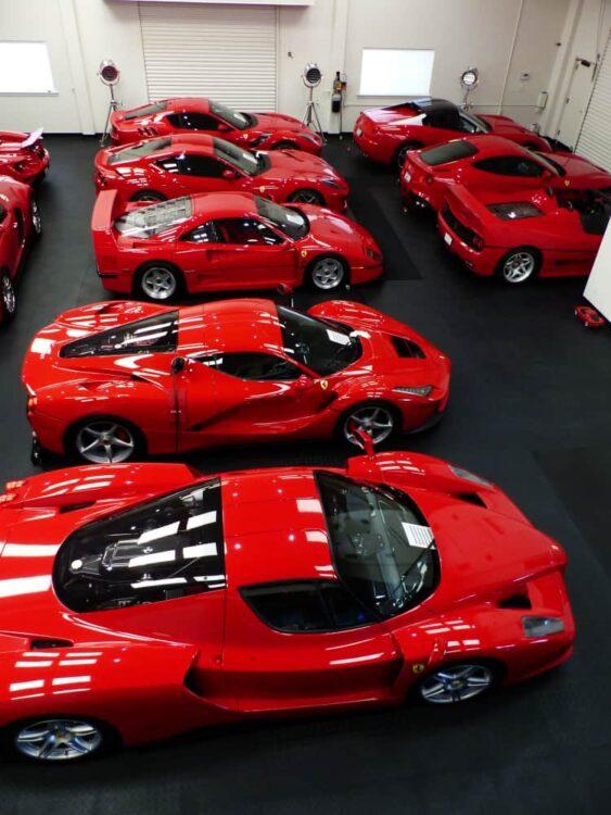 Sea of Ferraris