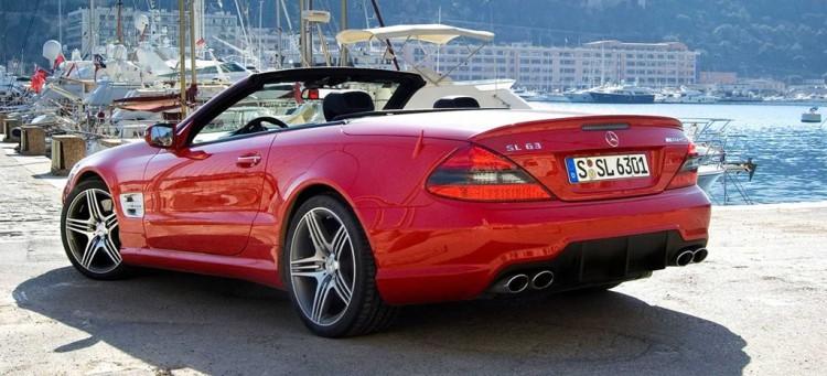SL62 AMG red
