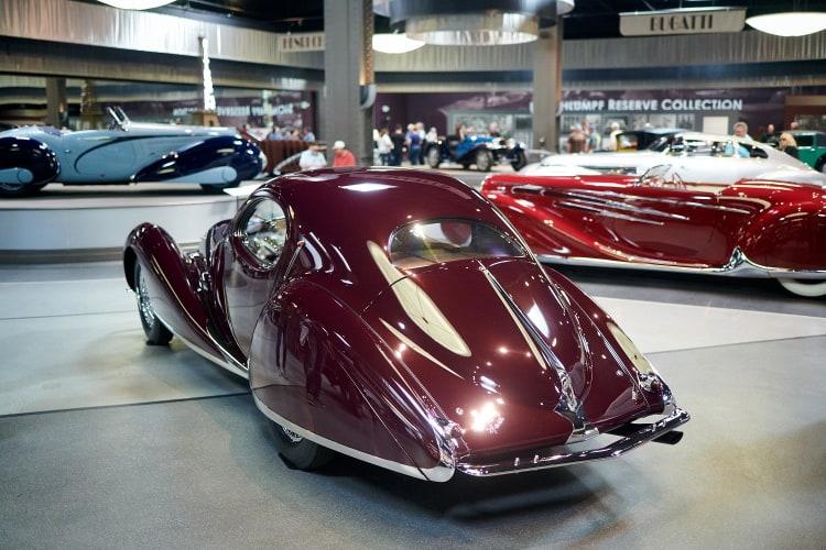 rear of 1937 Talbot-Lago Type 150-C SS