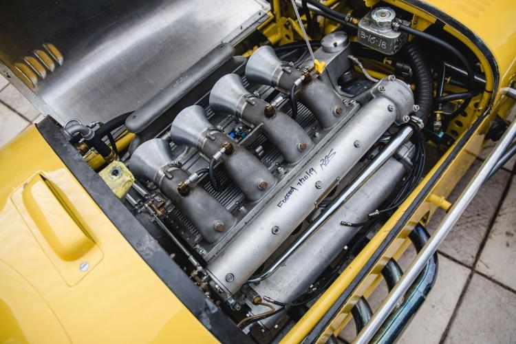 engine of 1958 Kurtis Kraft 500H Offenhauser Indy Car