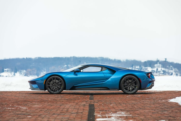 side of 2019 Ford GT Lightweight