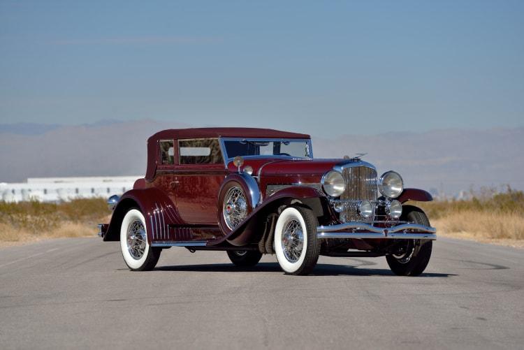 1930 Duesenberg Model SJ Rollston Convertible Victoria