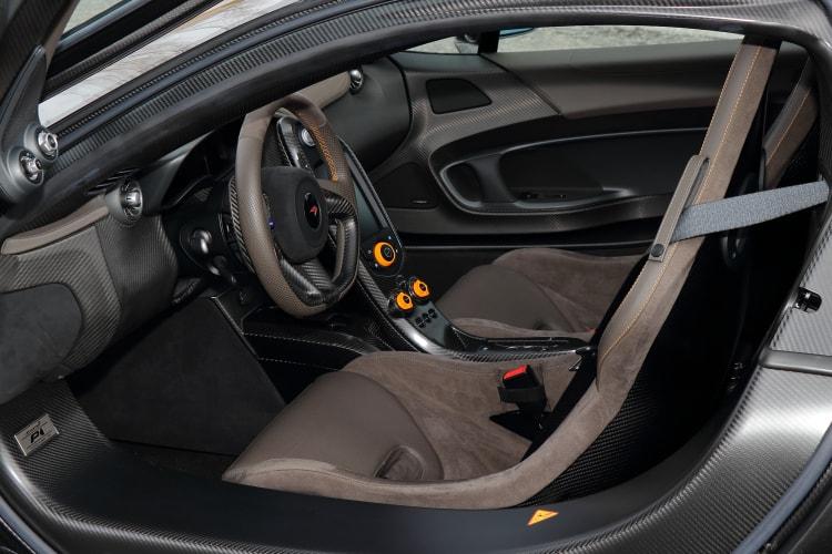 interior of 2014 McLaren P1