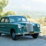 Happy Anniversary, Honey!  1958 Mercedes-Benz 180D