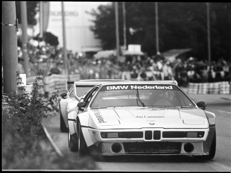 BMW M1 Procar at Nurnberg 1980.