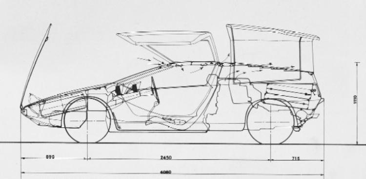 sketch of vehicle