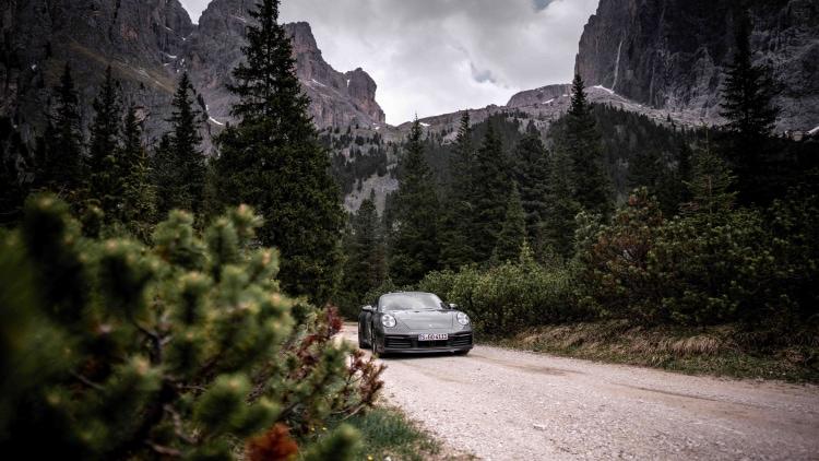 road trip around mountains