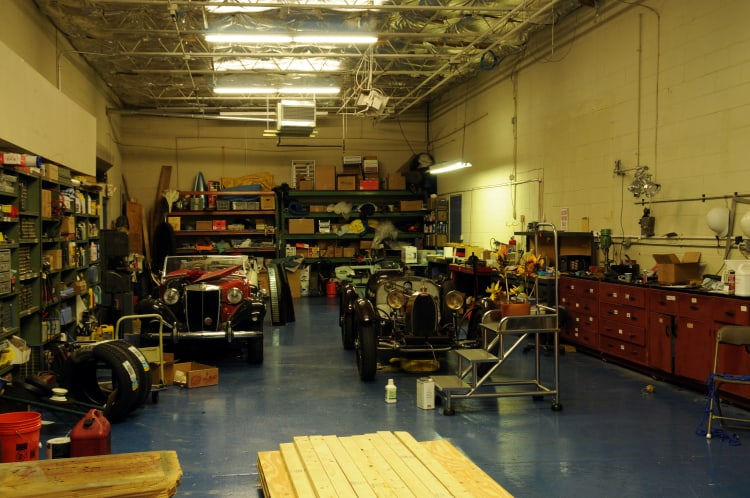 workshop at Simeone Collection