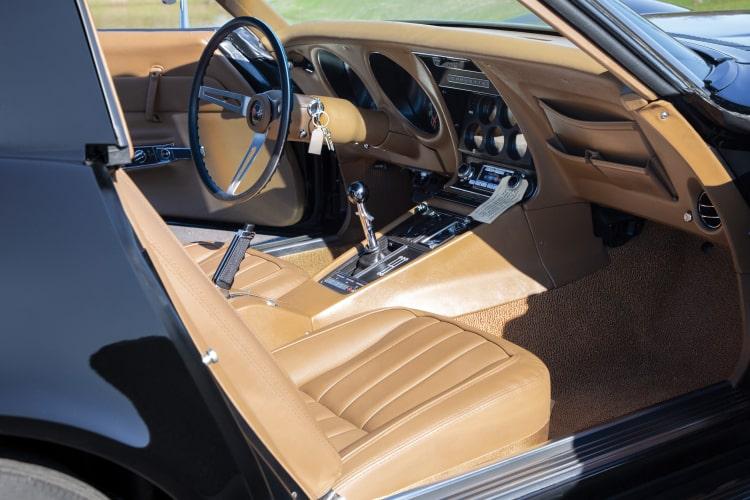 interior of C3 corvette
