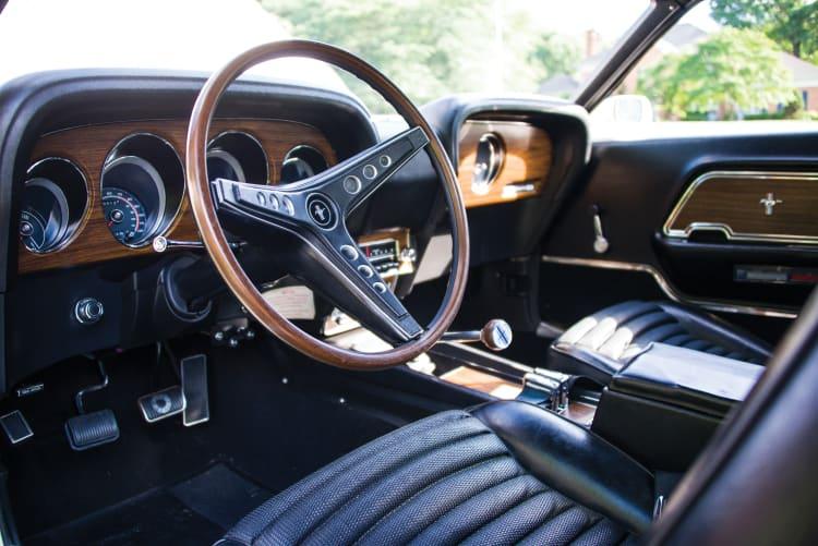 interior of 1969 Ford Mustang Boss 429