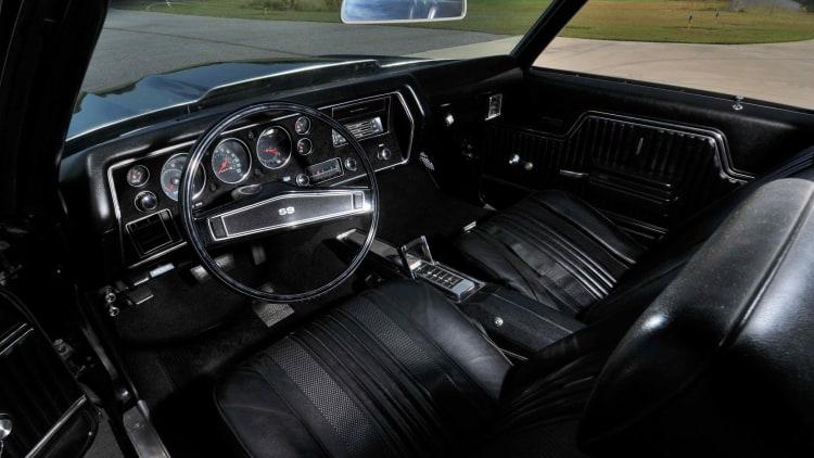 interior of 1970 Chevrolet Chevelle 454 LS6