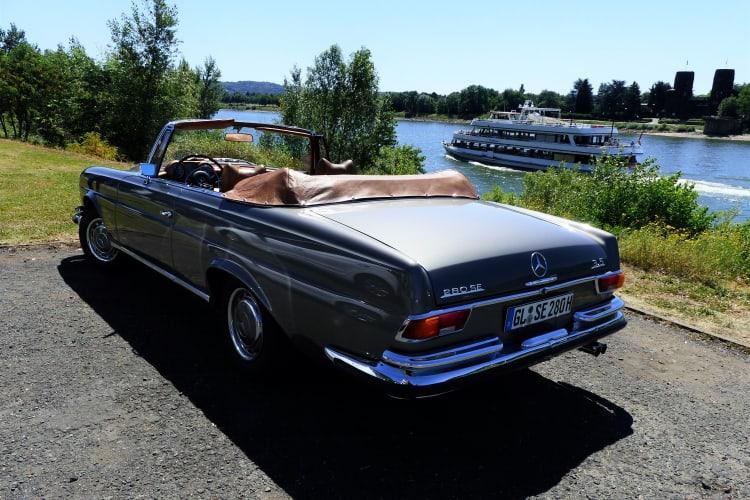 1969 280SE 3.5 cabriolet