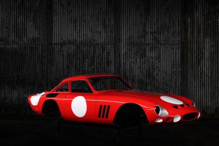 Alloy Body of Ferrari