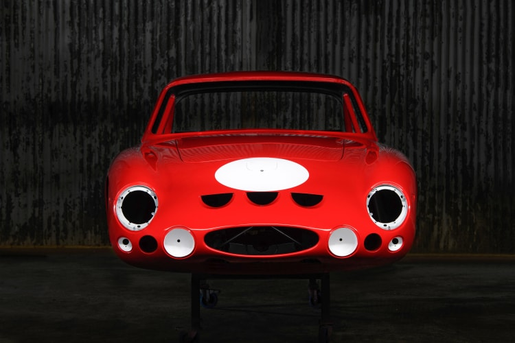 front of Ferrari Body