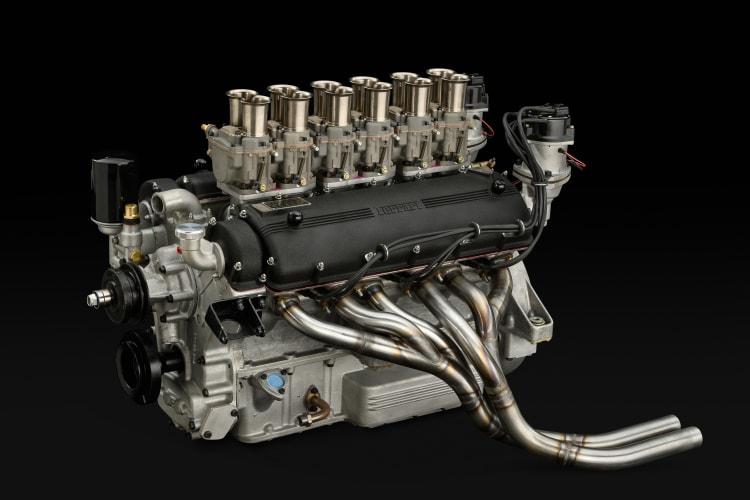engine of Ferrari