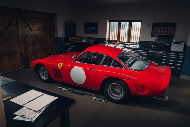 Ferrari 330 LMB recreation in shed