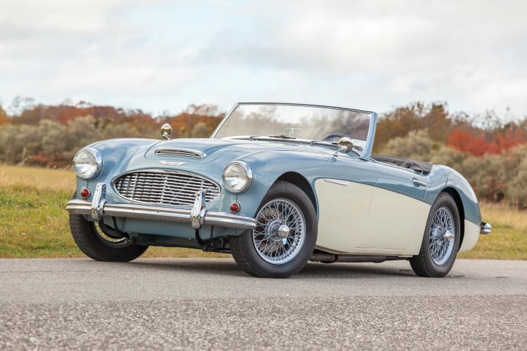 Austin Healey is one of the best sports cars under $50K