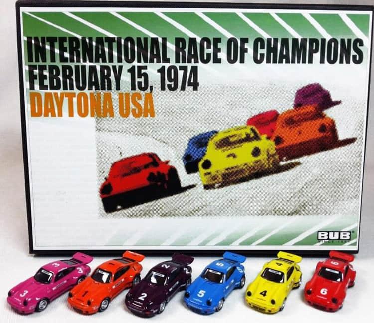 International Race of Champions promotion
