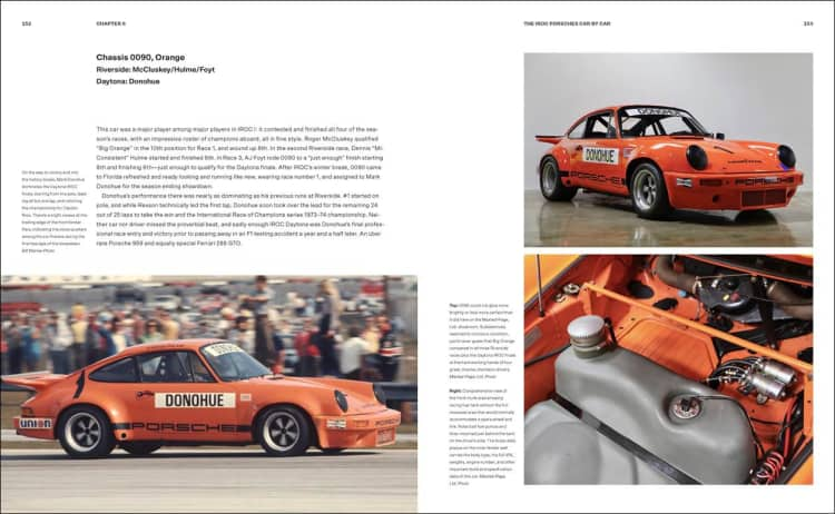 The International Race of Champions, Porsches 911 RSR and The Men Who Raced Them