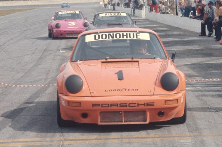 Donohue in Porsche Carrera RSR