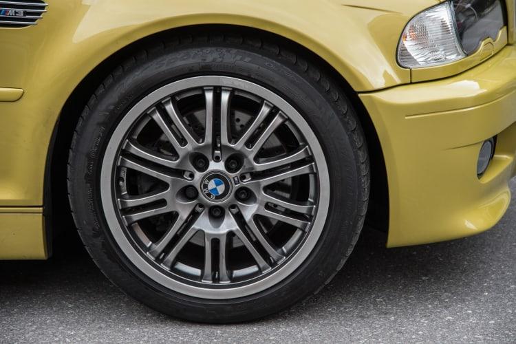 BME e46 M3 tire