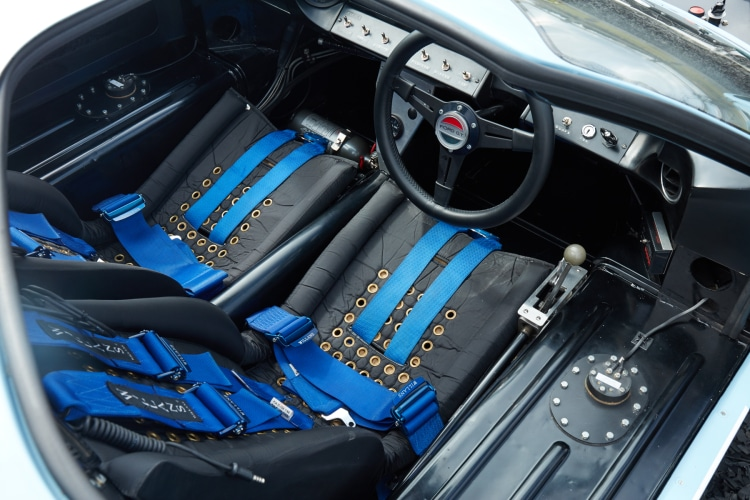 Seats of Ford GT40