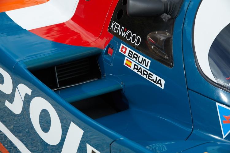 Brun racing team sticker