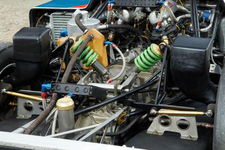 engine of Porsche 962C
