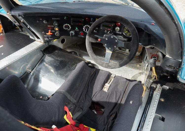 cockpit of Porsche 962C