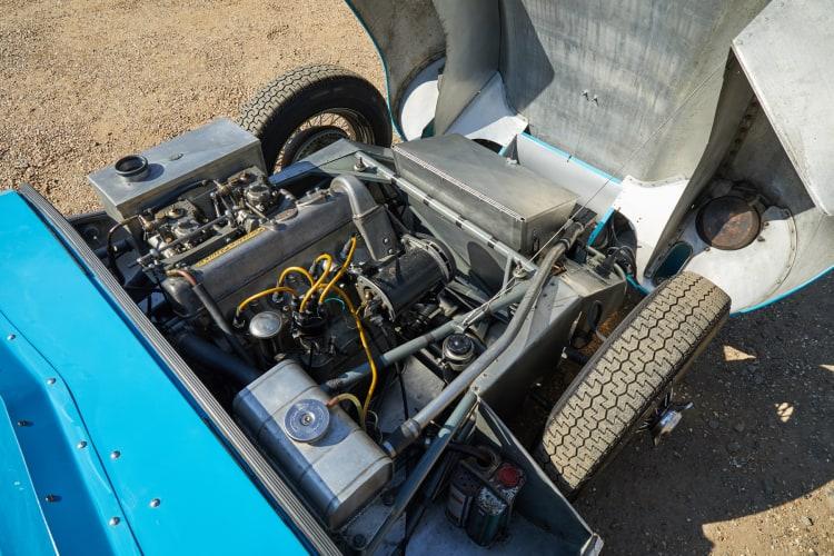 Engine of Lotus Eleven