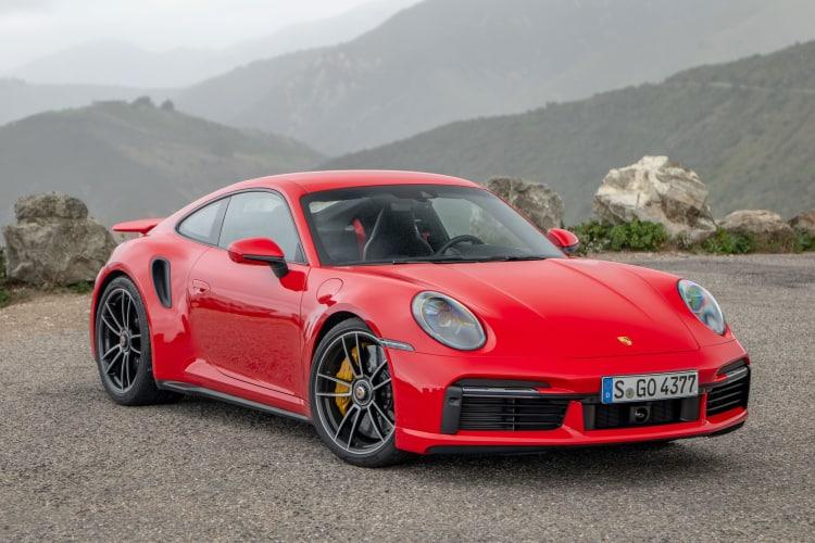 Porsche 911 Turbo S is AWD sports car
