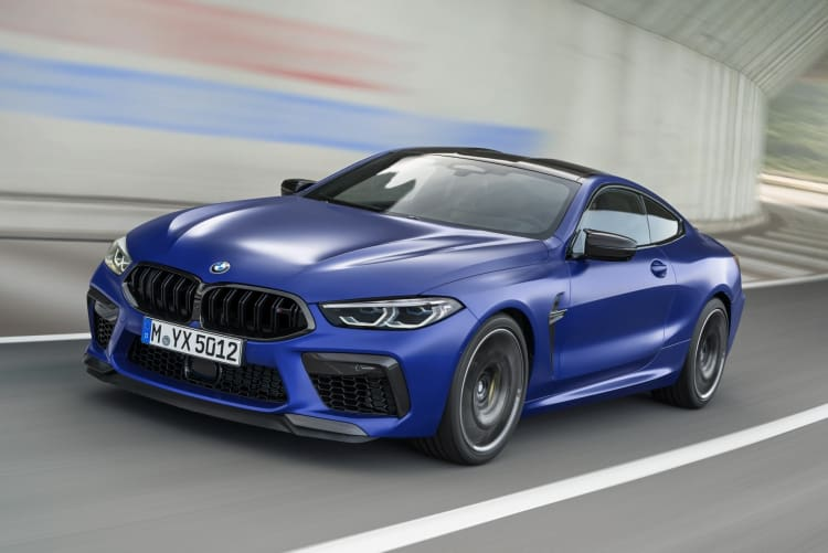 BMW M8 voted number 6 best AWD sports cars