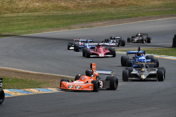 Velocity Invitational racing