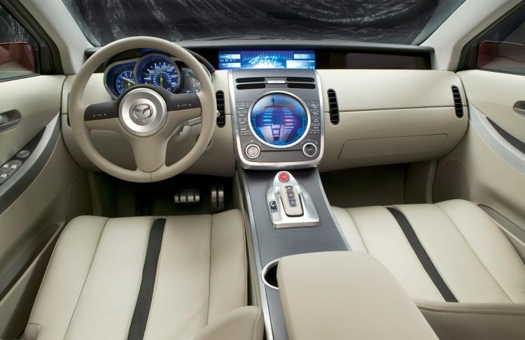 interior of the 2005 MX-Crossport