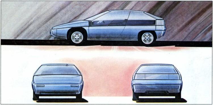 Mazda MX-81 sketch