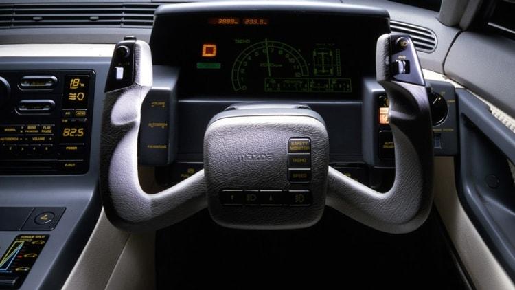 Interior of the MX-03