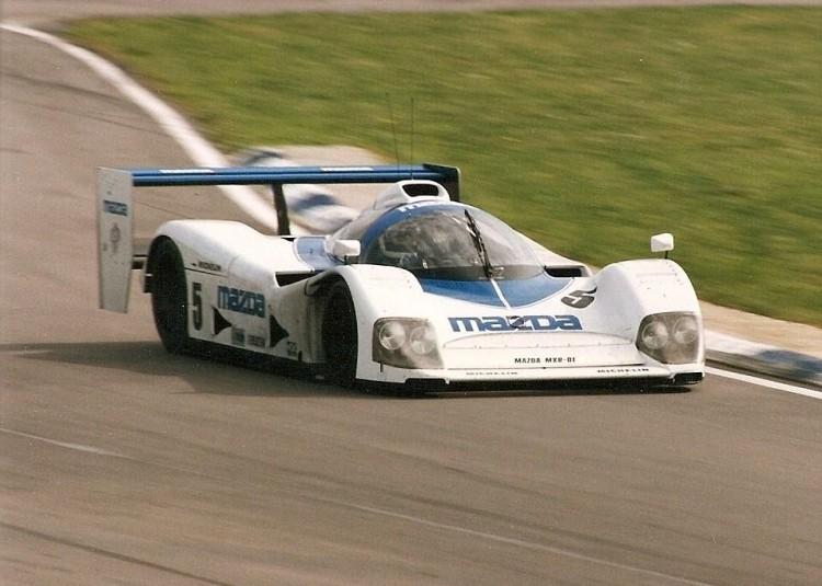 MXR-01 prototype race car
