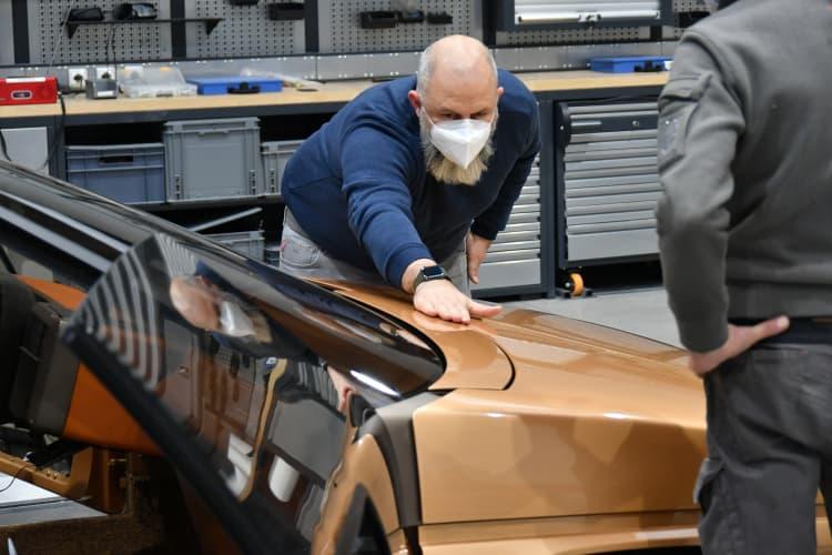 restoration of vehicle