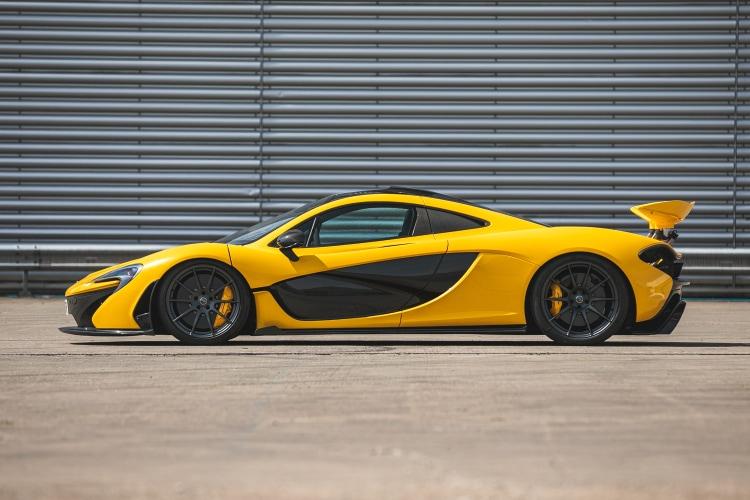 side of McLaren P1