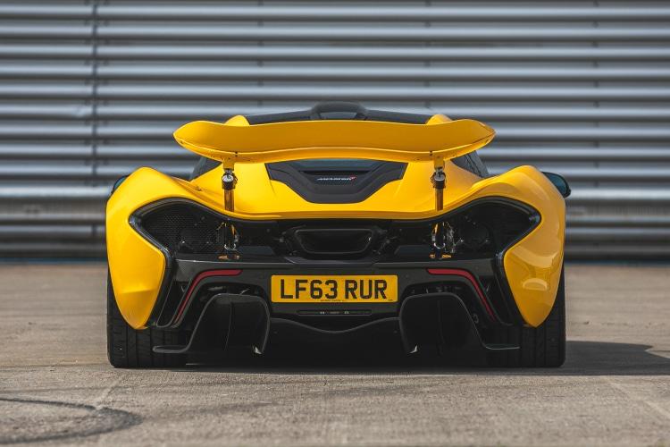 rear of McLaren P1