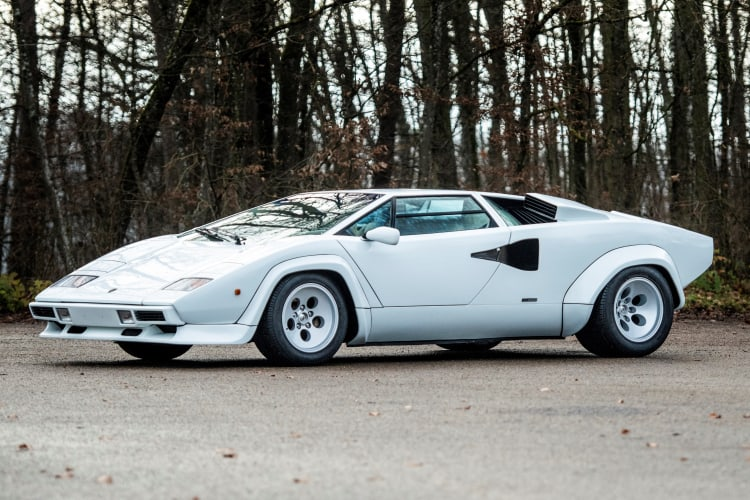 Lamborghini Countach LP500 S 80s cars