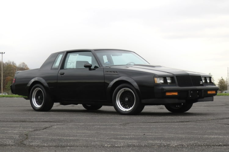 Number 3 80s cars being Buick GNX